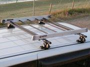Алюминиевую корзину-багажник INNO (ИННО,  Япония) на крышу автомобиля