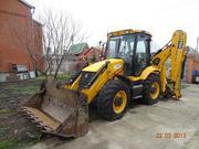 Трактор сдается в  аренду или предлагается для выполнения строительных