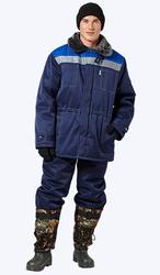 Зимний рабочий костюм-утепляйся и работай!
