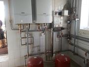 Монтаж отопления,  водоснабжения,  теплые полы