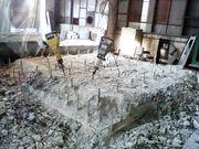 Разборка стен-перегородок,  демонтаж бетона
