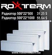 Радиаторы стальные оптом купить - Roxterm - дилер