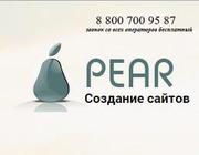 SEO продвижение,  web-студия PEAR