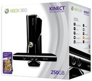 XBOX 360 + Kinect + GTA 5 + 27 игр