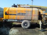 Стационарный бетононасос Zoomlion HBT 60