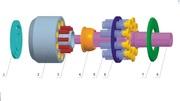 Насос MITSUBISHI MKV23 для бетононасосов