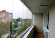 Безрамное остекление балконов,  веранд,  беседок,  кафе