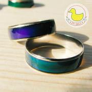 Кольцо меняет цвет