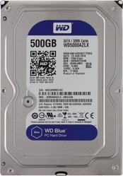 Жесткий диск Western Digital Blue 500GB 7200rpm 32MB WD5000AZLX