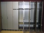 Шкафы для раздевалок фитнес,  спортзалов,  рабочих