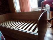 продам кровать Шервуд ,  НОВАЯ. размеры: ШХ-95;  В-75;  Г-205,  мет:-ЛДСП.
