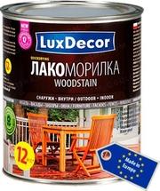 Морилки,  лазури,  лакоморилки  LuxDecor (Польша) для древесины.