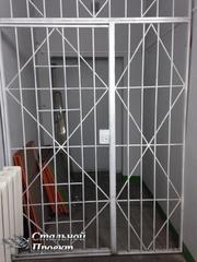 Двери решетка