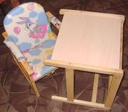 стол-стульчик деревянный — Краснодар