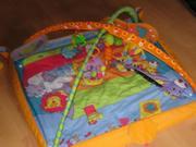 Продаю детский игровой коврик б/у недорого
